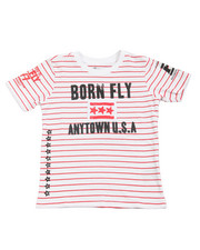 Born Fly - Yarn Dyed Tee (4-7)
