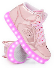 Pre-School (4 yrs+) - Energy Lights Elate Metallic Mid Sneakers (Unisex)