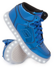 Grade School (5 yrs+) - Energy Lights Eliptic Metallic Mid Sneakers (Unisex)