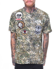 Shirts - Printed Patch Tee