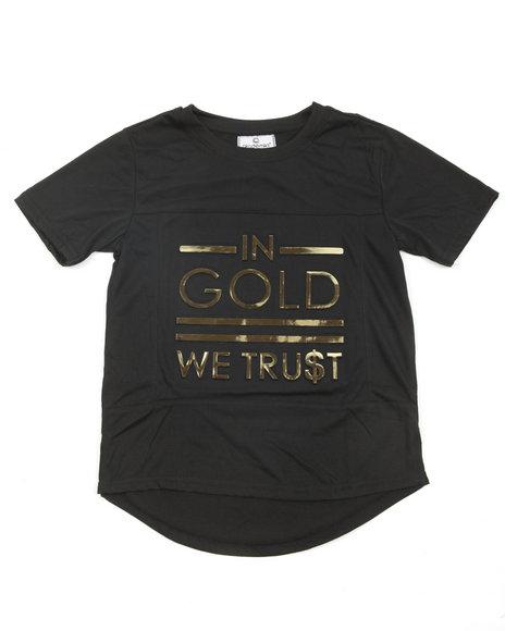 Akademiks - In Gold We Trust 3D Foil Print S/S Tee