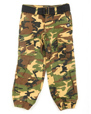 Boys - Belted Twill Cargo Jogger (4-7)