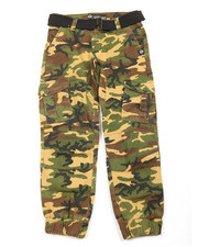 Boys - Belted Twill Cargo Jogger (8-20)