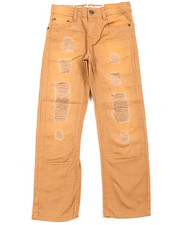 Akademiks - Twill Colored Rip & Repair Denim (8-20)