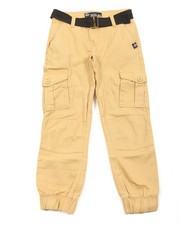 Pants - Belted Twill Cargo Jogger (8-20)