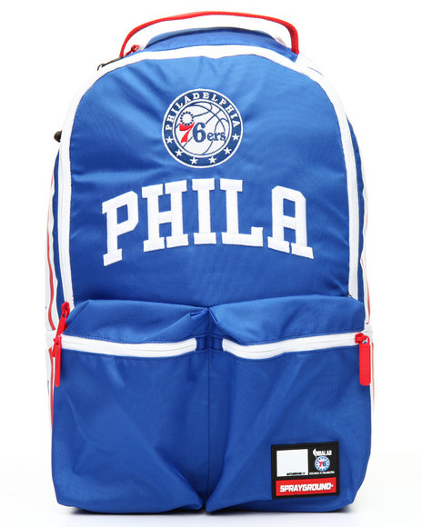Sprayground - NBA LAB 76ers Double Cargo Backpack