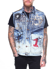 Men - Painted Vest