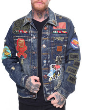 Denim Jackets - Denim Jacket W Patches