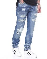 Jeans & Pants - Stretch Rip & Repair Jeans
