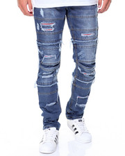 Jeans & Pants - Red Backing Ripped Jeans