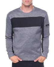 Pullover Sweatshirts - Fleece Crew Sweatshirt