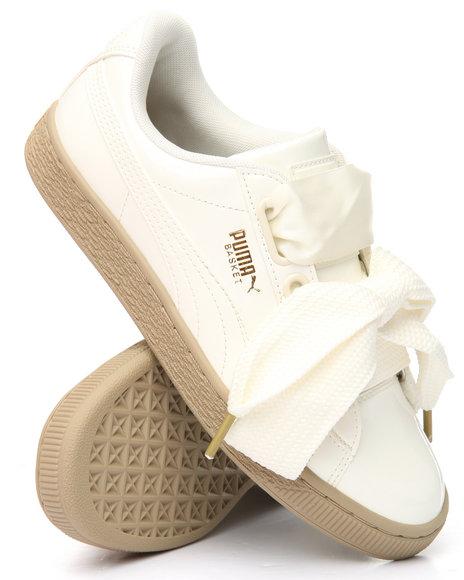 Puma - Basket Heart Patent Sneakers