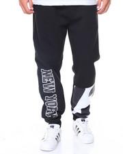 Men - New York Patched Fleece Pants