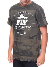 Flysociety - S/S Cartoon Aviation Tee