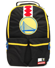 Sprayground - NBA LAB Warriors Double Cargo Backpack