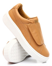 Puma - Basket Platform Strap Sneakers