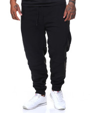 Big & Tall - Fleece Jogger Zipper Trim (B&T)-2131808