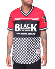 Men - OHB S/S Checkered Jersey