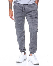 MC SQUARED - Fleece Reflective Sweatpants