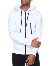 SWITCH - Quilted Fleece Hoody