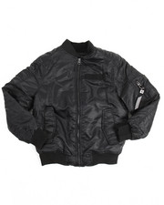 Light Jackets - Biker Detail Bomber Jacket (8-20)