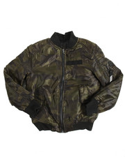 Light Jackets - Camouflage Bomber Jacket (8-20)