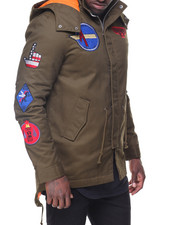 Buyers Picks - Patches Fishtail Jacket