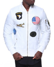 Buyers Picks - Patches Aviator Flight Jacket
