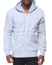 Men - Mens Fleece Full Zip Hooded Sweatshirt