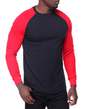 Thermals - L/S Raglan Sleeve Thermal Tee-2132551