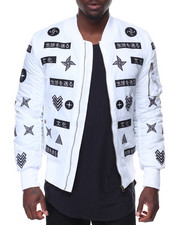Men - All Over Oriental Print Jacket