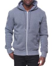 Hoodies - Mens Fleece Full Zip Hooded Sweatshirt
