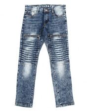 Boys - Pleated  Jeans (8-20)