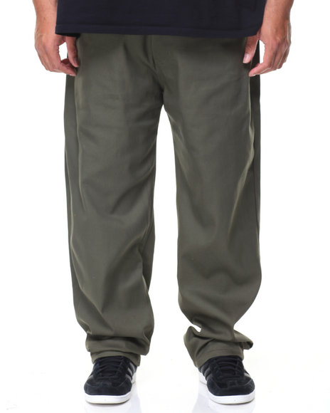 Akademiks - Shady Stretch Twill Pants (B&T