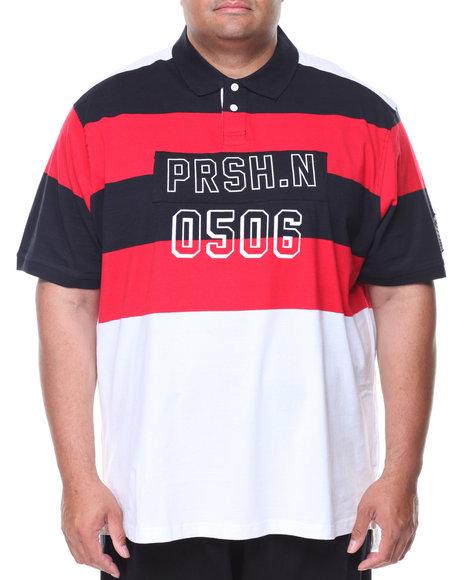 Parish - S/S Color Block Polo (B&T)