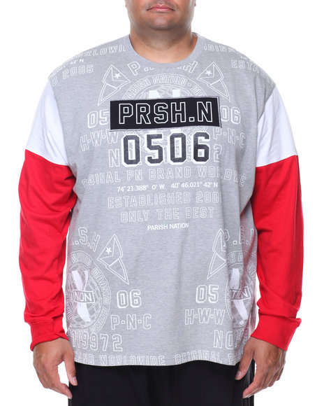 Parish - L/S Printed Tee (B&T)
