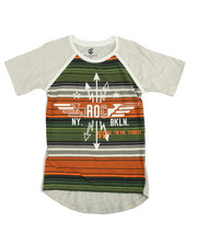 Boys - S/S Arrows Raglan Tee (8-20)