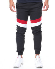 Jeans & Pants - Color Block Tech Fleece Joggers