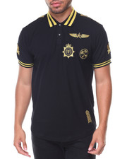 Polos - Luitenant Embroidered Collar Polo