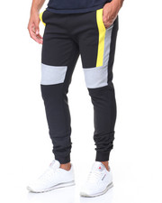 Jeans & Pants - Color Block Joggers