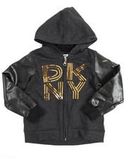 DKNY Jeans - Sequin Zip Hoodie (2T-4T)