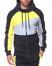 Men - Color Block Hoodie