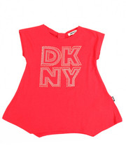 Tops - Bow Back DKNY Tee (4-6X)