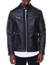 Buyers Picks - Pu Bomber Moto Sleeves-2134021