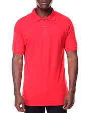 Men - S/S Solid Polo Shirts