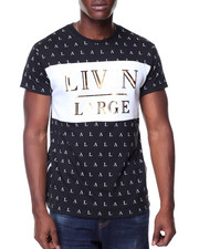 Men - S/S Livin Large All Over Print Tee