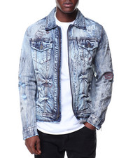 Denim Jackets - Graffiti Denim Jacket