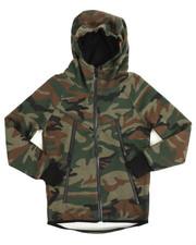 Boys - Tech Fleece Full Zip Hoodie (8-20)