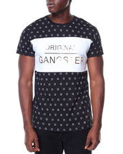 Men - S/S Original Gangster All Over Print Tee