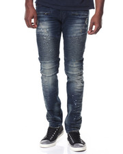 Men - Premium Wash Motto Jeans